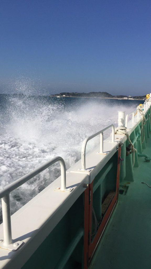渡船でアジング