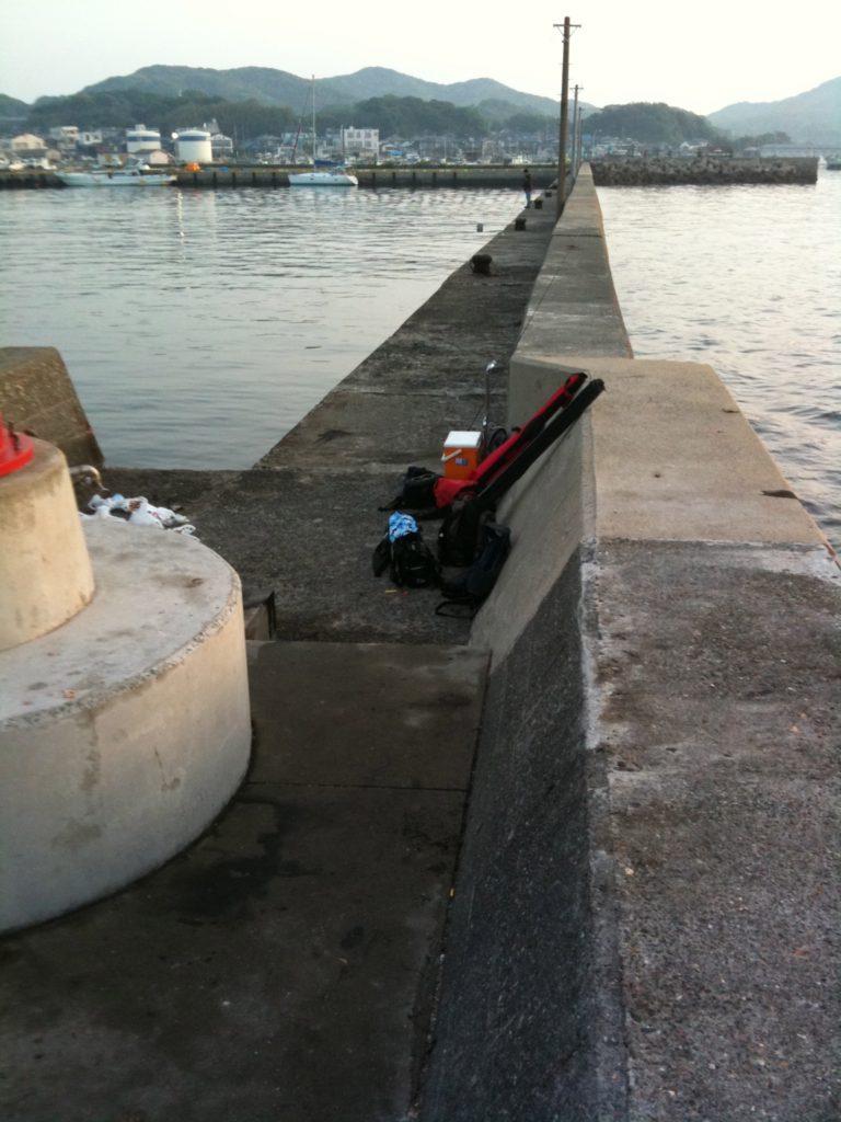 堤防のキャリーカート