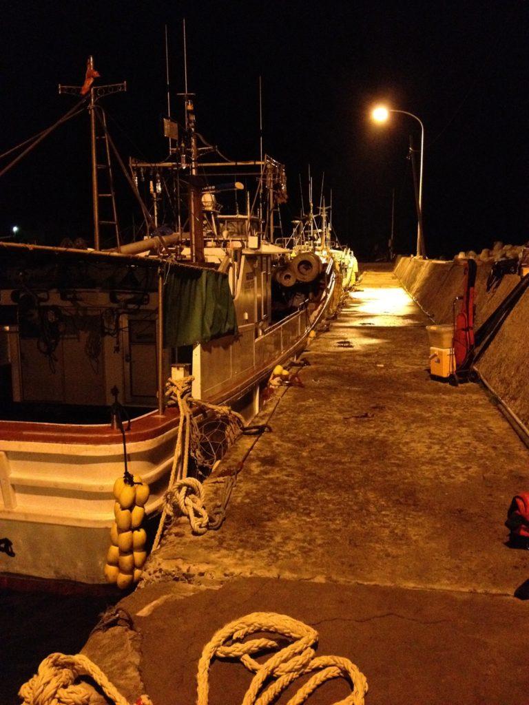 漁港のキャリーカート